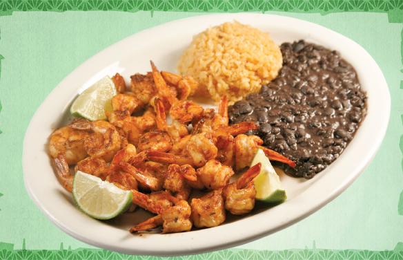 Camarones a la plancha la fondita mexican restaurant - La cuisine a la plancha ...