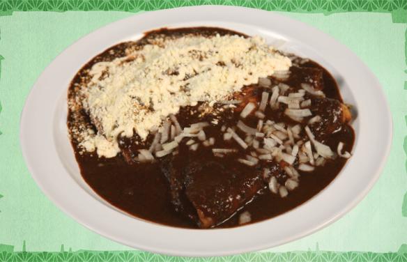 enchiladas-de-mole